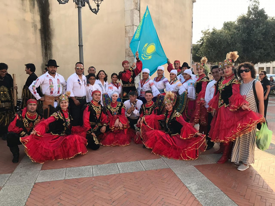 Teachers of Kostanay pedagogical College showed their skills in Italy